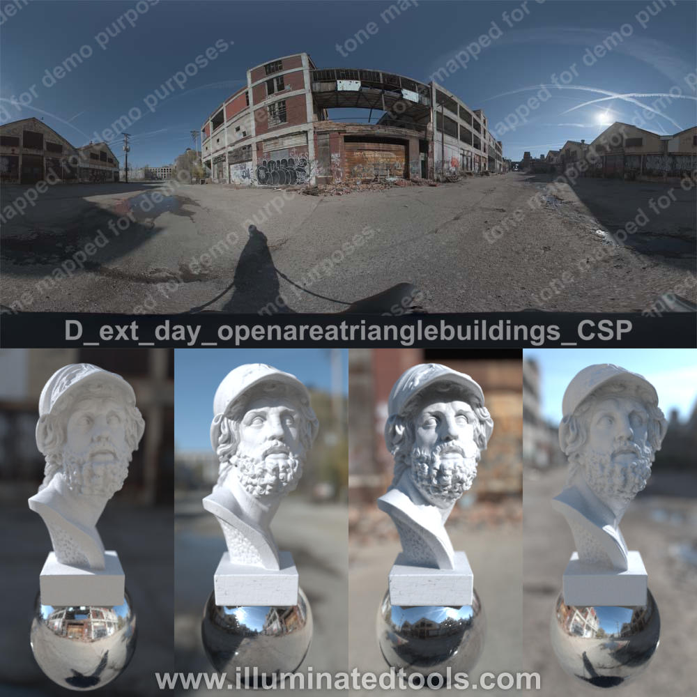 D ext day openareatrianglebuildings CSP