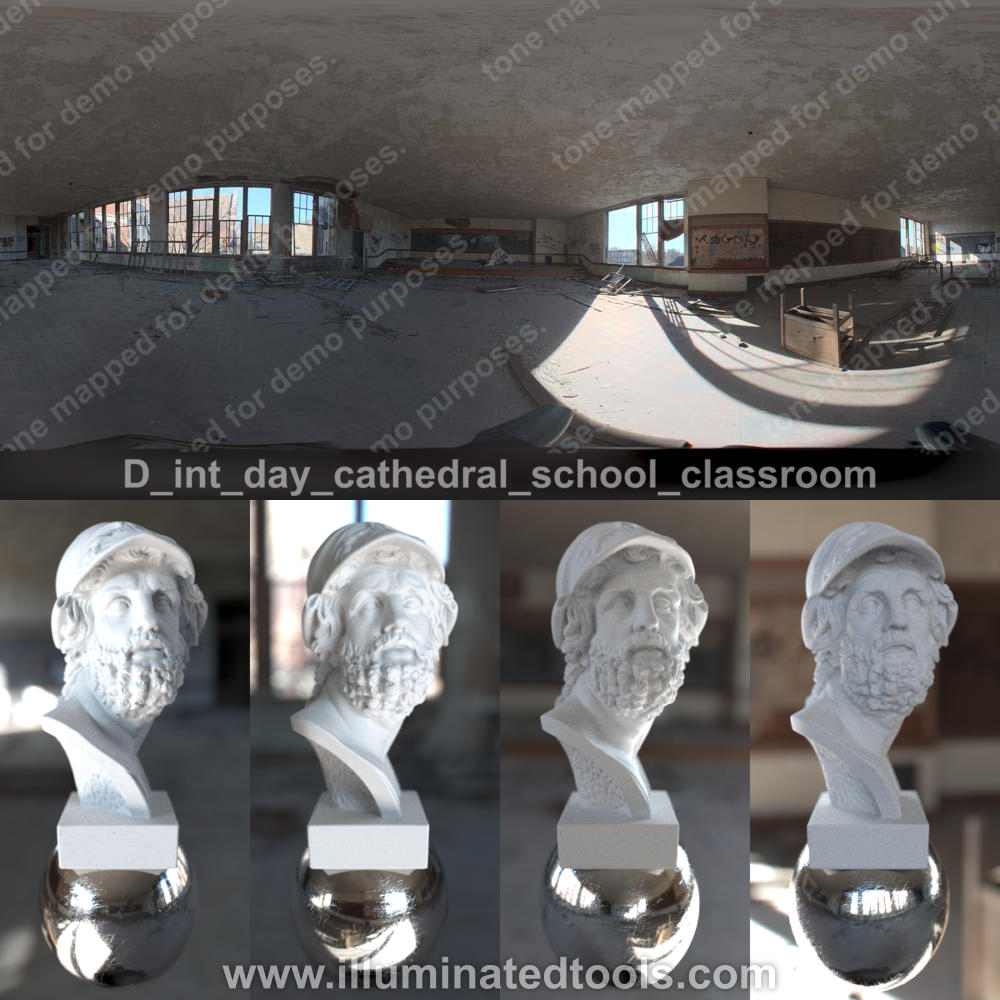 D int day cathedral school classroom