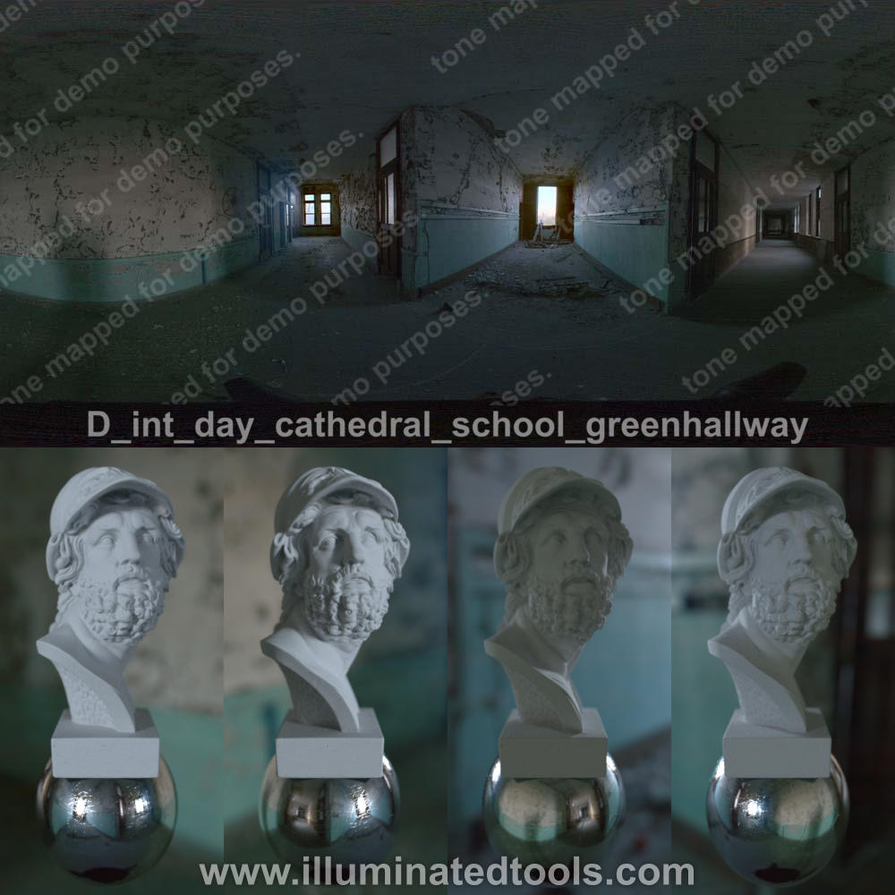 D int day cathedral school greenhallway