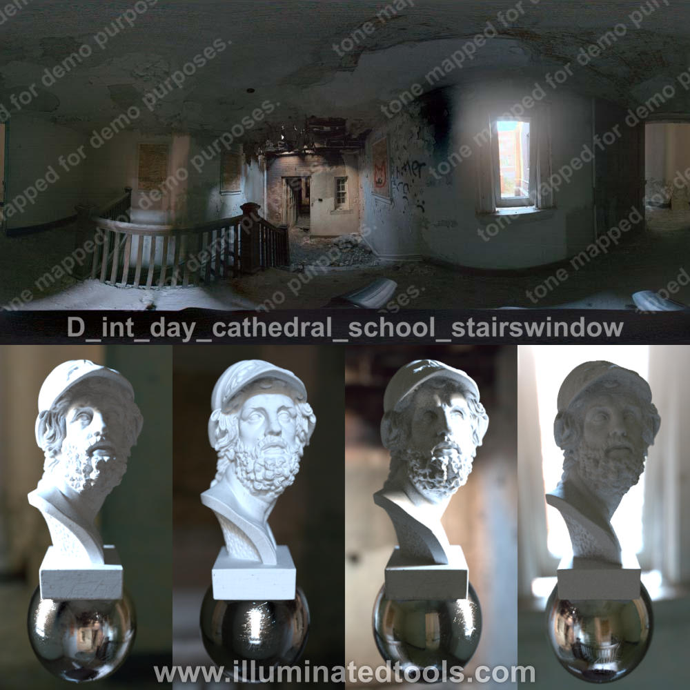 D int day cathedral school stairswindow