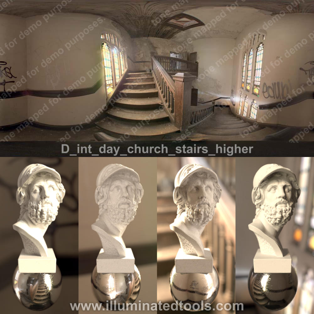 D int day church stairs higher