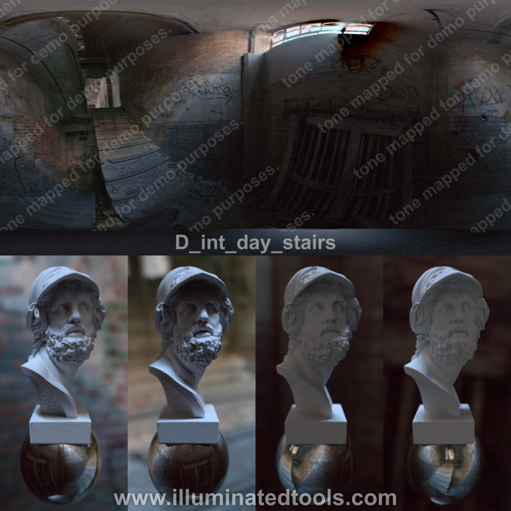 D int day stairs