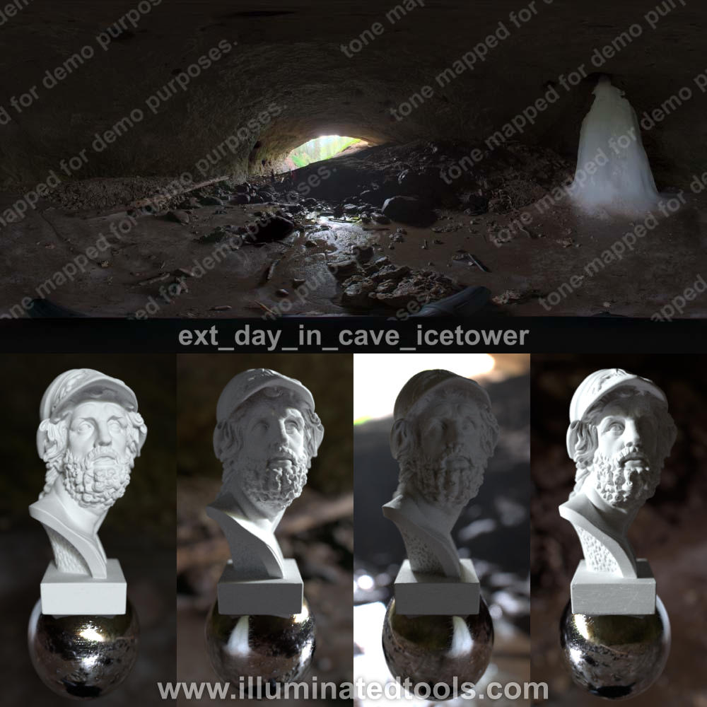 ext day in cave icetower