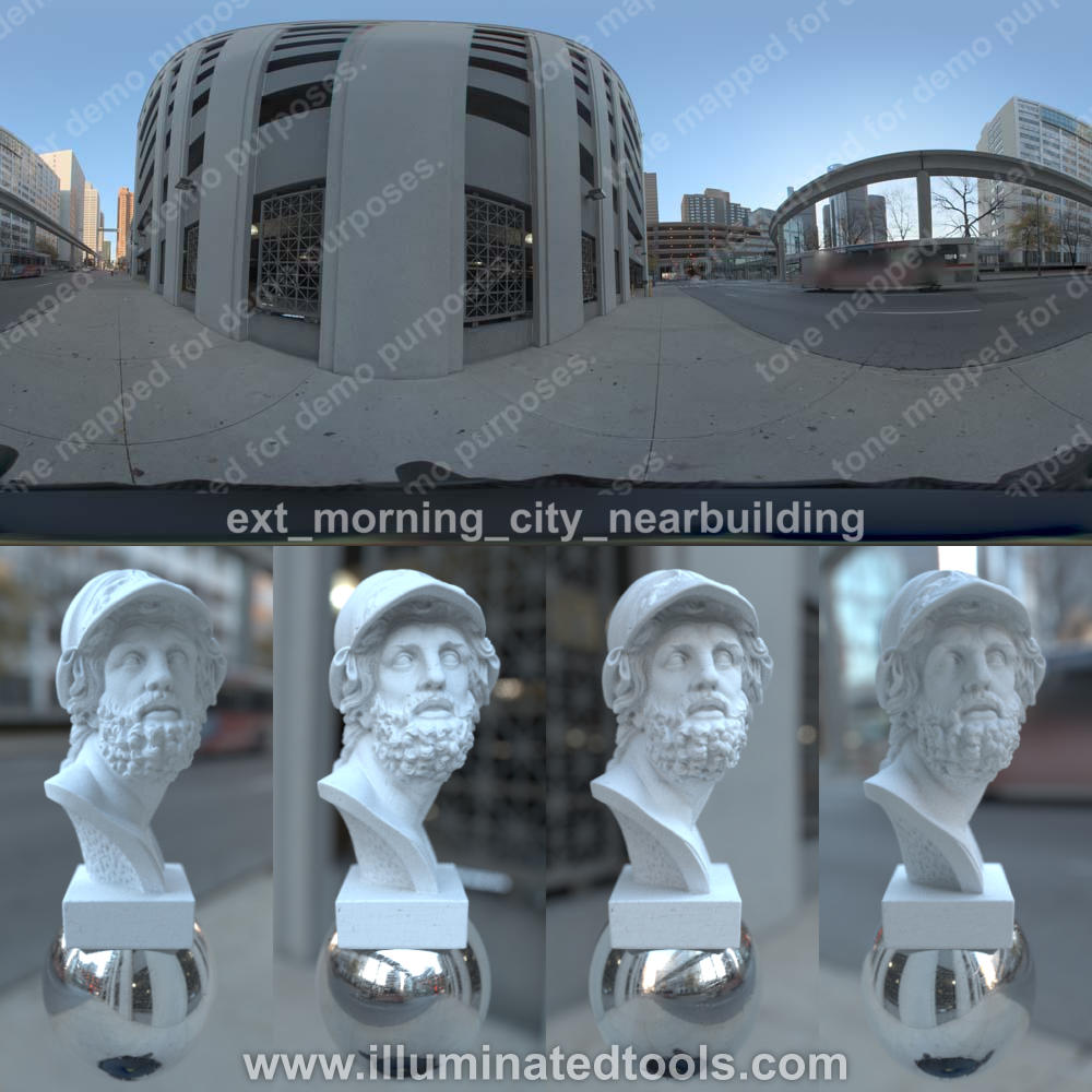 ext morning city nearbuilding