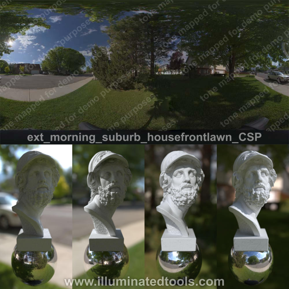 ext morning suburb housefrontlawn CSP