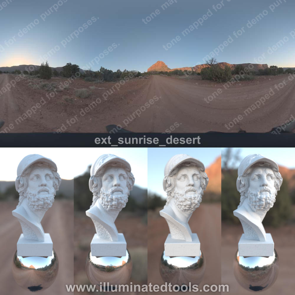 ext sunrise desert