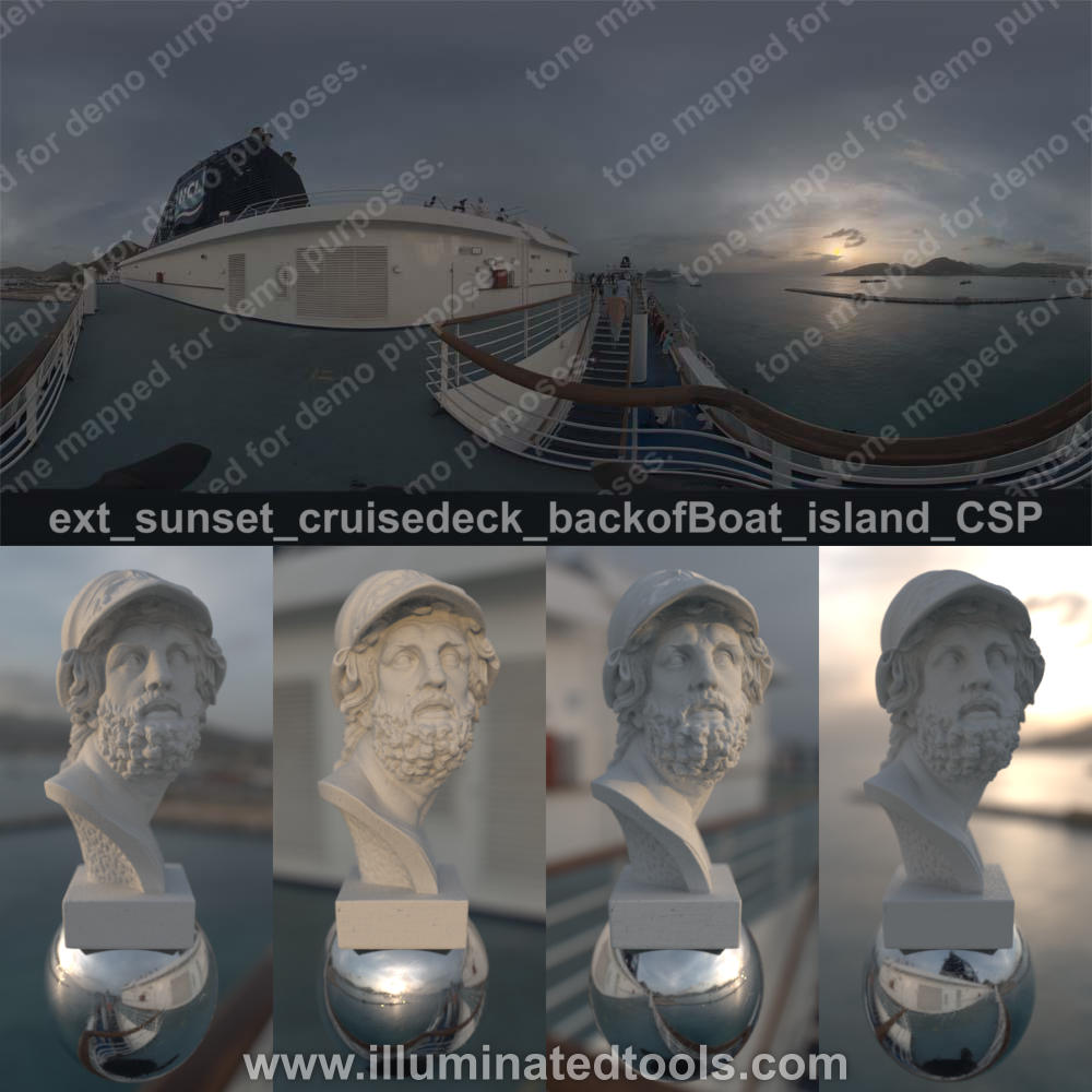ext sunset cruisedeck backofBoat island CSP