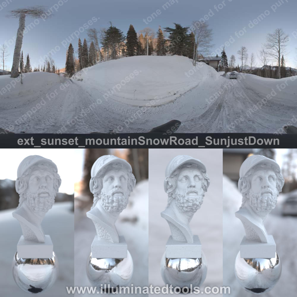 ext sunset mountainSnowRoad SunjustDown