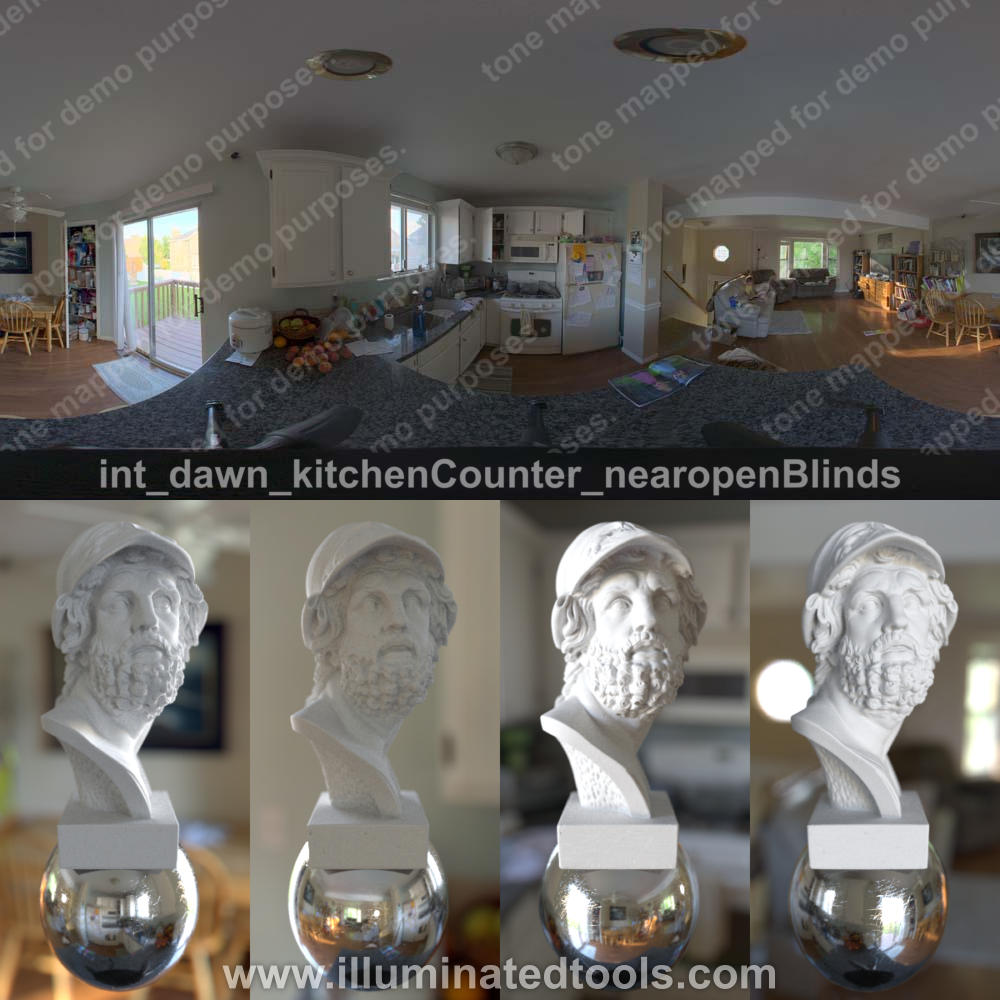 int dawn kitchenCounter nearopenBlinds