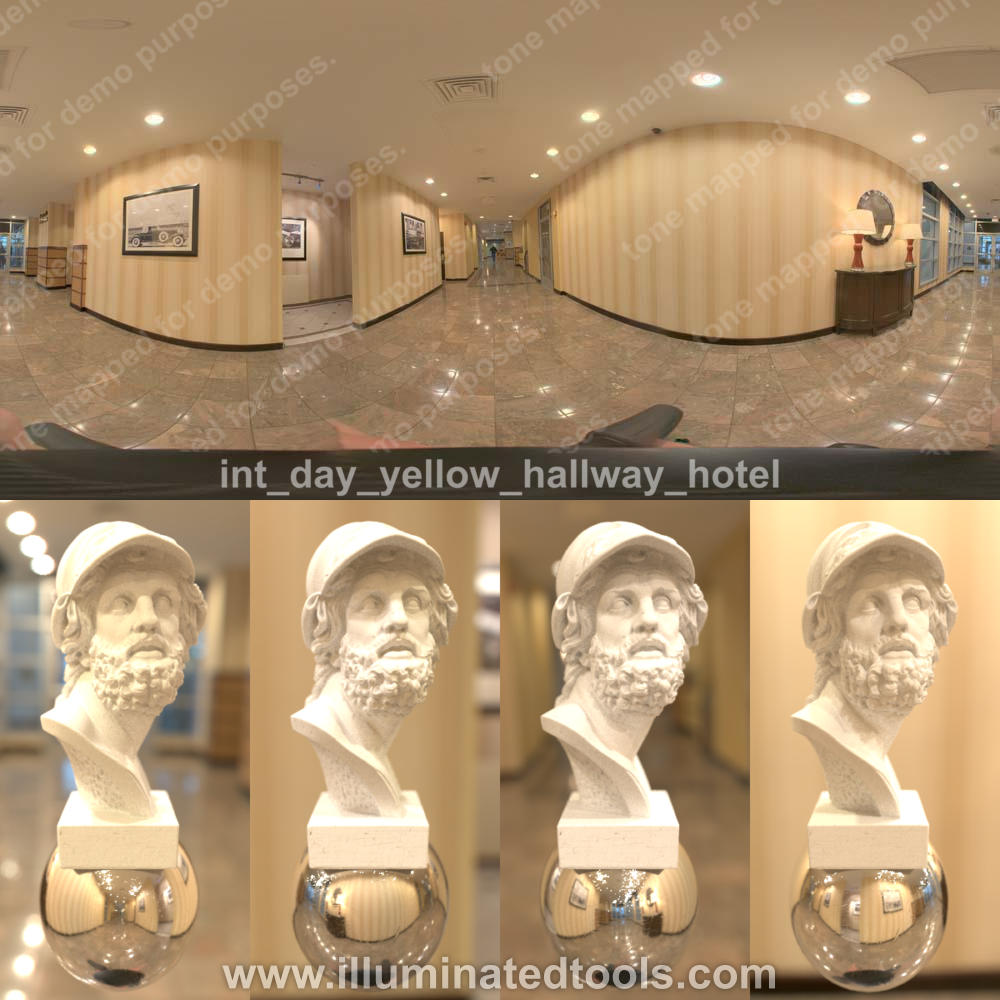 int day yellow hallway hotel