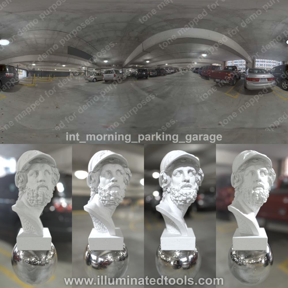 int morning parking garage