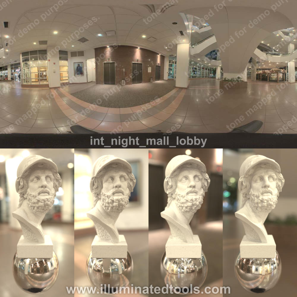 int night mall lobby